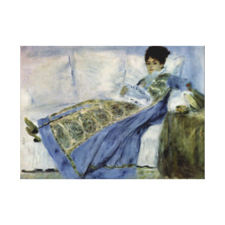 Madame Monet Fine Art Stretched Canvas Print