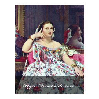 Madame Paul-Sigisbert Moitessier Née Marie-Clotild Flyer Design