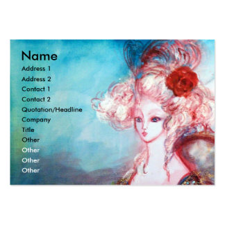 MADAME POMPADOUR Beauty Salon Spa Makeup Artist Business Card Template