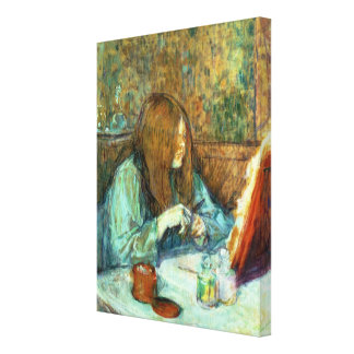 Madame Poupoule at her Toilet 1898 Gallery Wrap Canvas