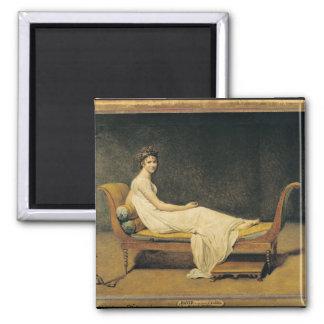 Madame Recamier, 1800 Square Magnet