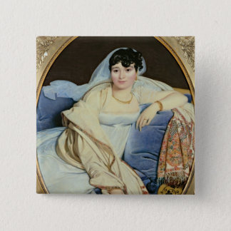 Madame Riviere nee Marie Francoise Jacquette 15 Cm Square Badge
