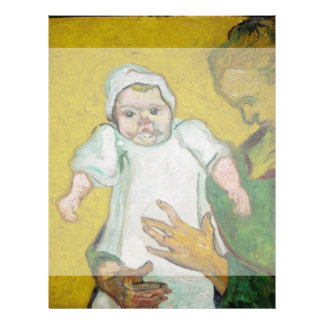 Madame Roulin with Baby by Vincent Van Gogh 21.5 Cm X 28 Cm Flyer