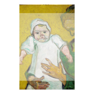 Madame Roulin with Baby by Vincent Van Gogh Flyer