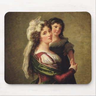 Madame Rousseau and her Daughter, 1789 Mouse Pad