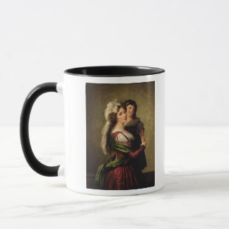 Madame Rousseau and her Daughter, 1789 Mug