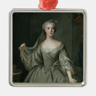 Madame Sophie de France  as a Vestal Virgin Silver-Colored Square Decoration