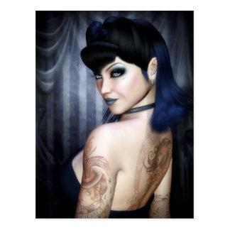 Madame Sophie Vampire Queen Postcard