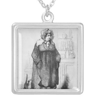 Madame Vauquer Silver Plated Necklace