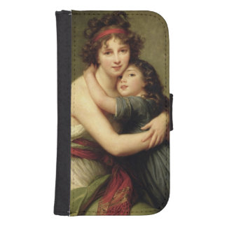 Madame Vigee-Lebrun and her Daughter 2 Samsung S4 Wallet Case