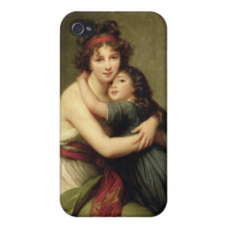 Madame Vigee-Lebrun and her Daughter iPhone 4 Cover