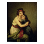 Madame Vigee-Lebrun and her Daughter Poster