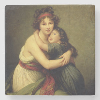 Madame Vigee-Lebrun and her Daughter Stone Coaster