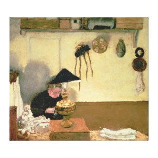 Madame Vuillard Sewing Canvas Print