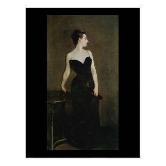 Madame X by John Singer Sargent Postcard
