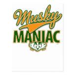 MadBadger MUSKY Post Card