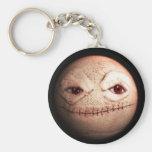 Madball Basic Round Button Key Ring