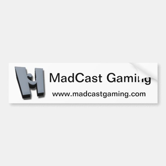 MadCast Bumper Sticker