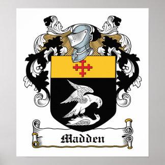 Madden Family Crest Print