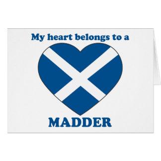 Madder Greeting Cards