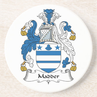 Madder Family Crest Coasters