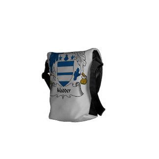 Madder Family Crest Courier Bag