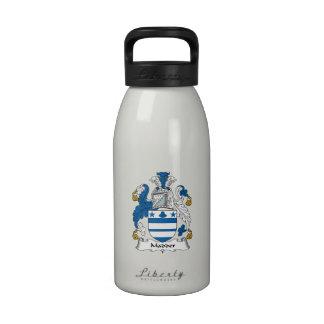 Madder Family Crest Water Bottles