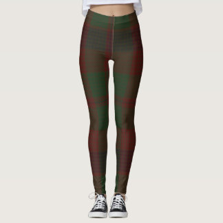 Madder Tartan Clan Plaid Leggings
