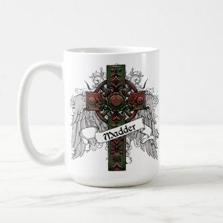 Madder Tartan Cross Coffee Mugs