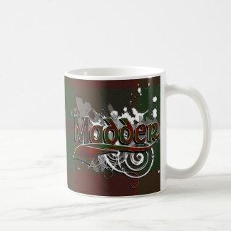 Madder Tartan Grunge Coffee Mug