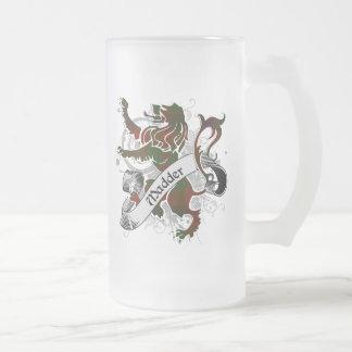 Madder Tartan Lion Coffee Mug