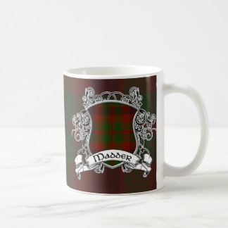 Madder Tartan Shield Coffee Mugs