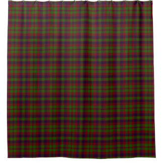 Madder Tartan Shower Curtain