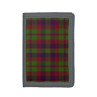 Madder Tartan Tri-fold Wallet