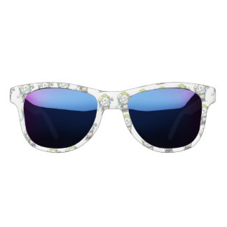 MADDI ALIEN CARTOON Midnight Mirror Sunglasses W