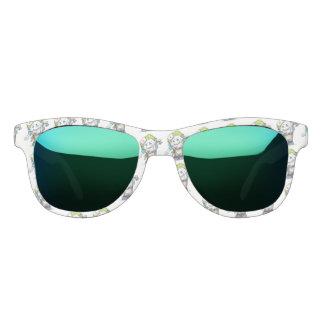 MADDI ALIEN CARTOON Ocean Mirror Sunglasses W