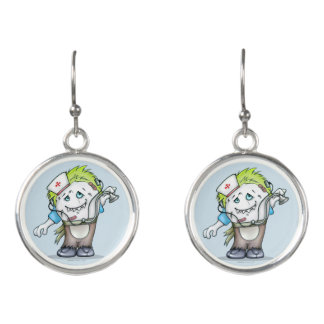 MADDI ALIEN MONSTER CARTOON Drop Earrings