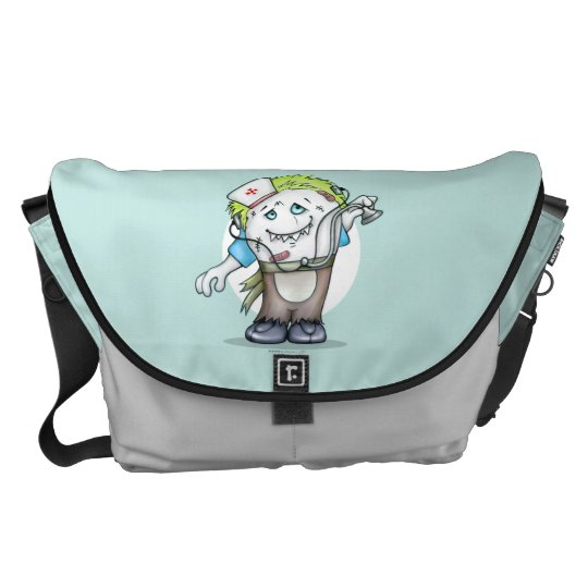 MADDI ALIEN MONSTER Rickshaw LARGE Messenger Bag
