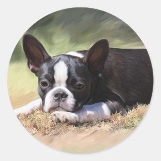 Maddi Round Sticker