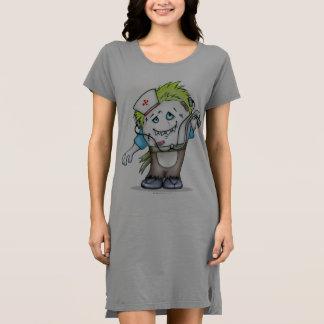 MADDI T-SHIRT DRESS MONSTER