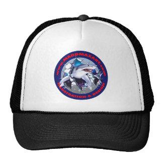 Maddmax Great White Shark Logo Mesh Hats