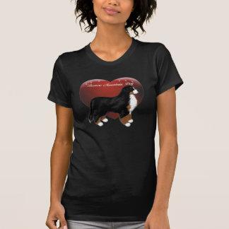 MadDog s Heart Dog Stacked T-Shirt