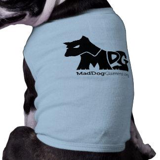 MadDogGamers Petwear Sleeveless Dog Shirt