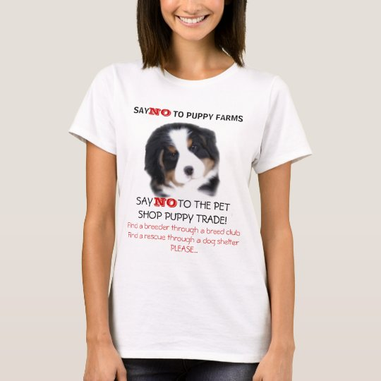 MadDog's Say NO To Puppy Farms T-shirt