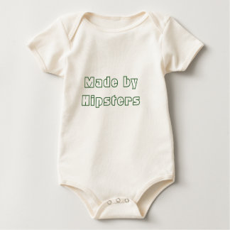 Made by Hipsters Organic One-Piece Bodysuits