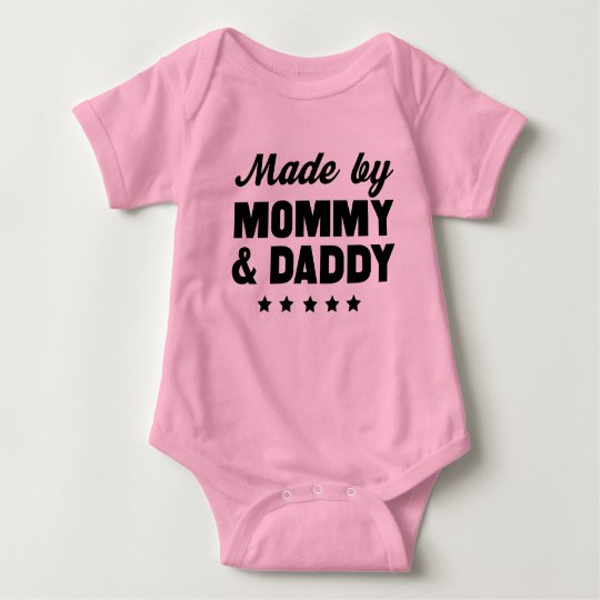 Made by Mummy & Daddy Baby Bodysuit