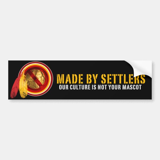 MADE BY SETTLERS BUMPER STICKER