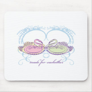 Made For Eachother Mouse Pad