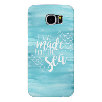 Made For The Sea Watercolor Samsung Case