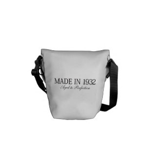 Made in 1932 commuter bag